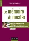 Le mémoire de master 2016